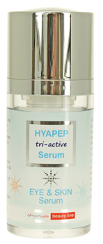 HYAPEP tri-active Serum im 15 ml airless Spender
