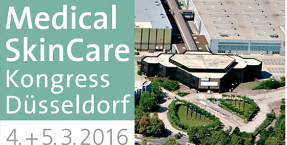 Medical SkinCare Kongress 2016 Düsseldorf