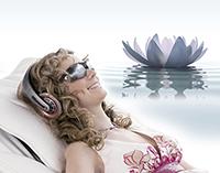 Schönheit und Charisma durch hochkarätige Entspannung: Die brainLight Wellness Lounge auf der beauty 2015
