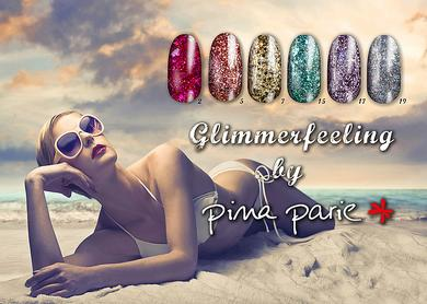 Glimmer UV-Gel pina parie