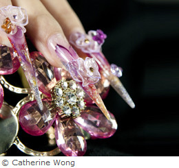 Nails, copyright Catherine Wong