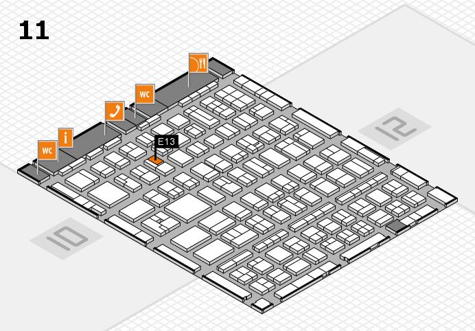BEAUTY DÜSSELDORF 2017 Hallenplan (Halle 11): Stand E13