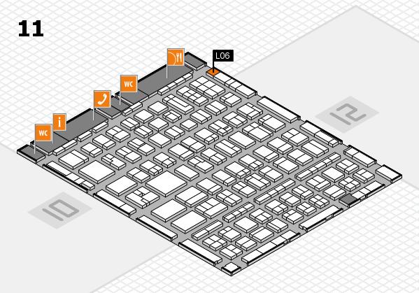 BEAUTY DÜSSELDORF 2017 hall map (Hall 11): stand L06