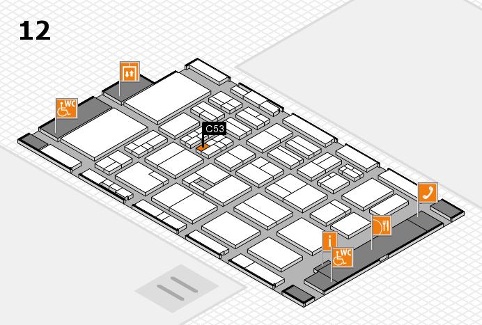 BEAUTY DÜSSELDORF 2017 Hallenplan (Halle 12): Stand C53