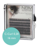 BDC Silk Lashes C- Curl 0,20 - 16mm mini tray