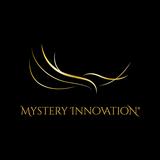 Logo Mystery Innovation 1200px schwarz gold quadrat