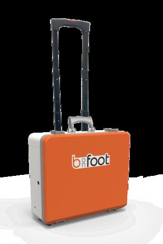 Koffer mit Trolley