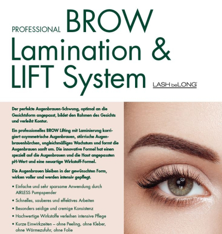 LASHbeLONG Brow Lamination Lifiting