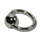 Nail-Piercing-Ring Silber (groß)