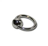 Nail-Piercing-Ring Silber (klein)