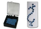 Swarovski Strasssteine cobald blue (100er Box)